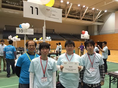 snapshot on ACM ICPC 2015 at Tsukuba